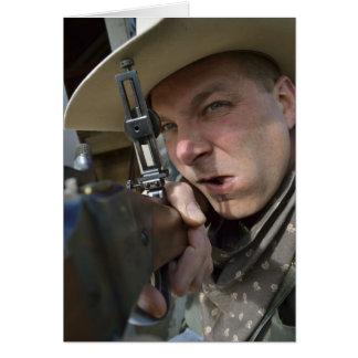 Cowboy Notecard