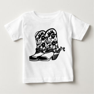***COWBOY OR COWGIRL BOOTS** TEE FOR BABY