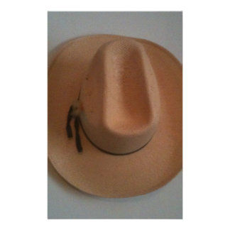 cowboy or cowgirl hat stationery