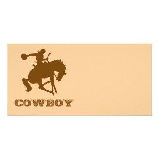 Cowboy Photo Card