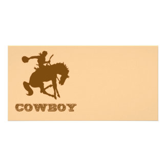 Cowboy Personalized Photo Card