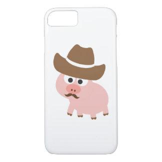 Cowboy Pig iPhone 7 Case