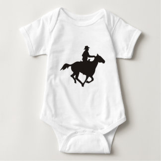 Cowboy Riding Baby Bodysuit