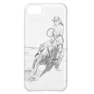 Cowboy Riding iPhone 5C Case