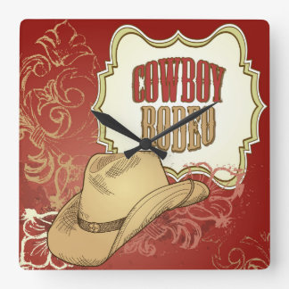 Cowboy Rodeo Wall Clock