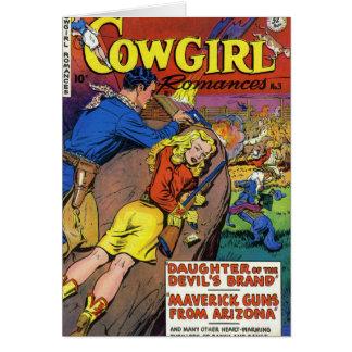 Cowboy Romances Card