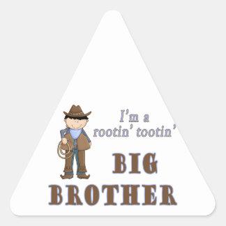 cowboy rootin tootin big brother stickers