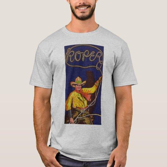 Cowboy Roper Mens T-Shirt