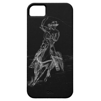 Cowboy Roping iPhone 5 Cover