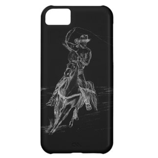 Cowboy Roping iPhone 5C Covers
