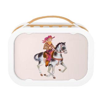 Cowboy School Lunchbox
