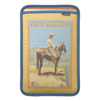 Cowboy (Side View)New Mexico MacBook Sleeves