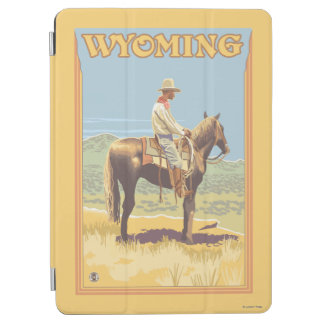 Cowboy (Side View)Wyoming iPad Air Cover