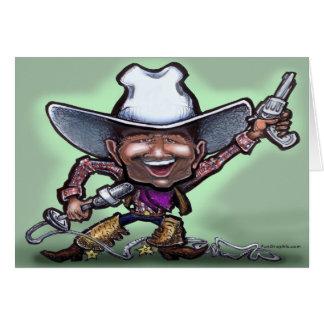 Cowboy Singer Card