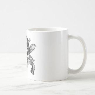 Cowboy Skull and Pistols Coffee Mug