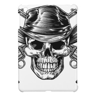 Cowboy Skull and Pistols Cover For The iPad Mini