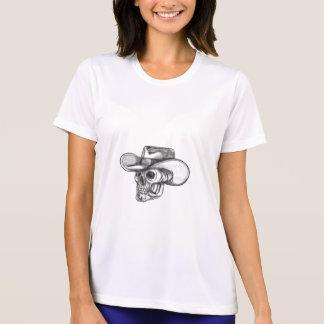 Cowboy Skull Tattoo T-Shirt