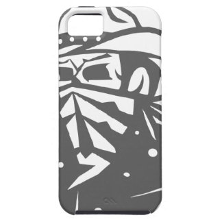 Cowboy Skull With Bandana And Hat Case For The iPhone 5