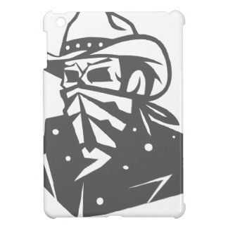 Cowboy Skull With Bandana And Hat iPad Mini Cases