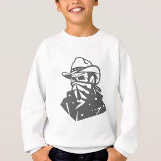 Cowboy Skull With Bandana And Hat Sweatshirt
