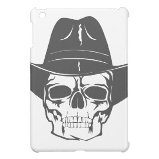 Cowboy Skull With Hat iPad Mini Cover