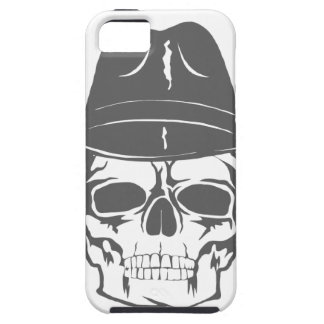 Cowboy Skull With Hat iPhone 5 Cases
