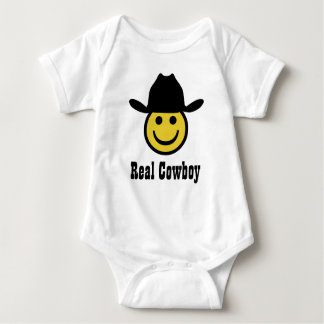 Cowboy Smiley Baby Bodysuit