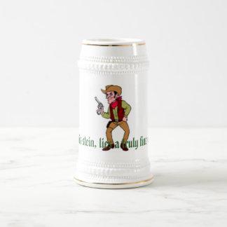 Cowboy Stein 18 Oz Beer Stein