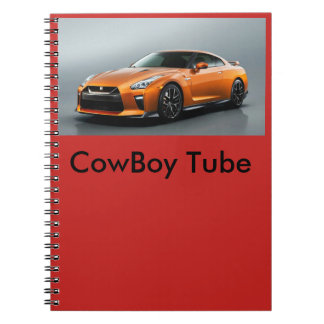 CowBoy Tube NoteBooks