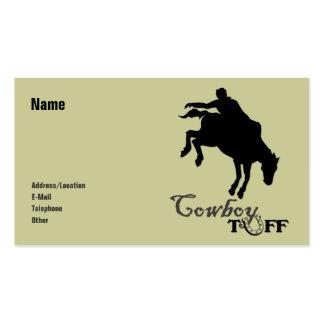 Cowboy Tuff Business Card