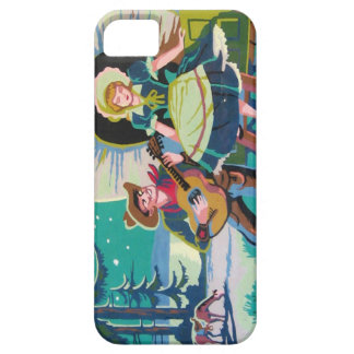 cowboy western girl  paint by numbers iphone case