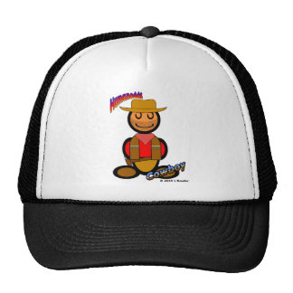 Cowboy (with logos) hat