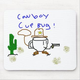 cowboycup bug mouse pad