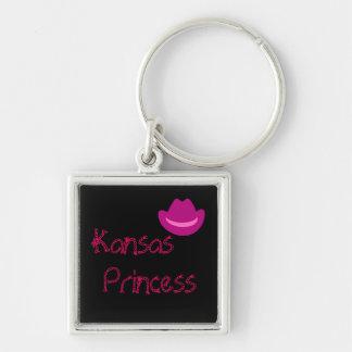 cowboyha_pink_dark, Kansas, Princess Keychain