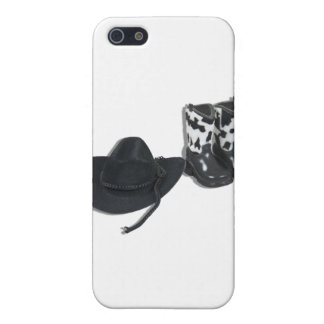 CowboyHatBoots092610 Cover For iPhone 5/5S