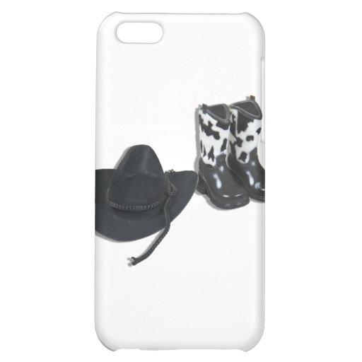 CowboyHatBoots092610 iPhone 5C Covers