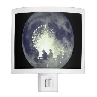 Cowboys agaisnt the Moon Night light