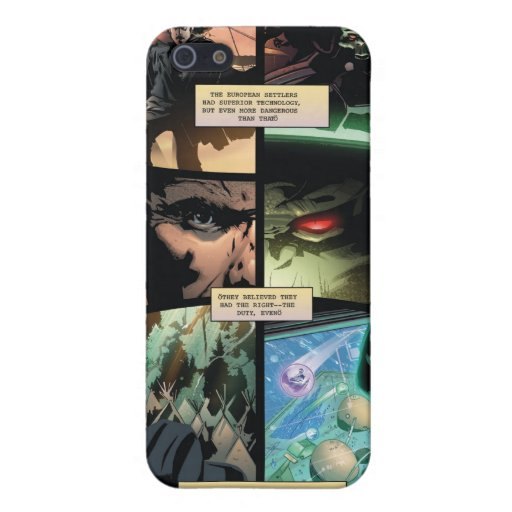 Cowboys & Aliens iPhone Cover iPhone 5 Cover