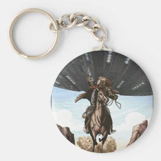 Cowboys Aliens Keychain