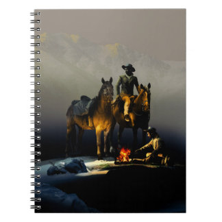 Cowboys and Horses Notebook
