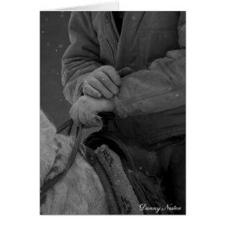 Cowboys Hands Card