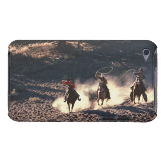 Cowboys riding barely there iPod case
