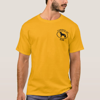 Cowdog Up Men's T pocket logo T-Shirt