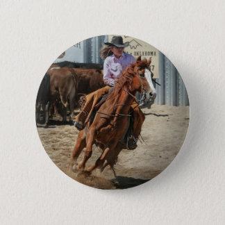cowgir 2 inch round button