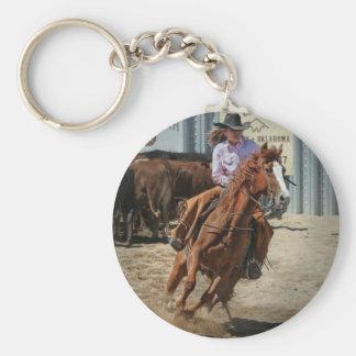 cowgir keychain