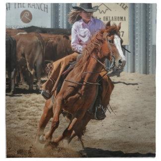 cowgir napkin