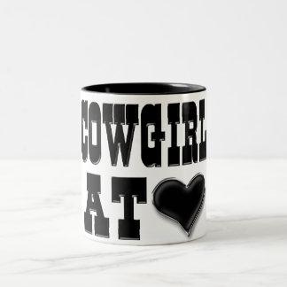 Cowgirl at Heart Mug