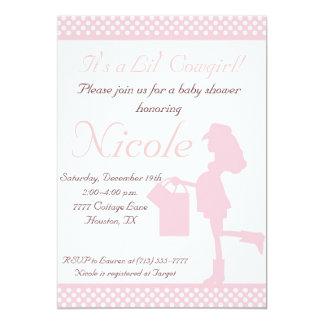 Cowgirl Baby Shower Invitations Announcements Zazzle Canada