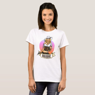Cowgirl Bride T-Shirt