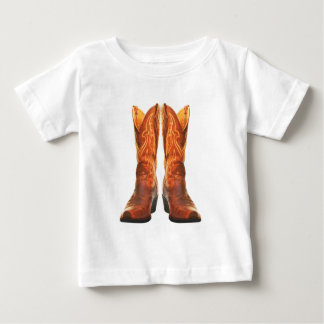 Cowgirl & Cowboy Western Boots Baby T-Shirt